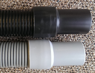 50ft Carpet Cleaning Vacuum Hose 1-1/2 Black