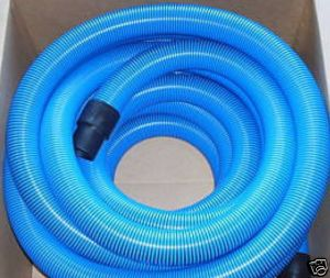 50ft Truckmount Carpet Cleaning Vacuum Hose 2 Blue